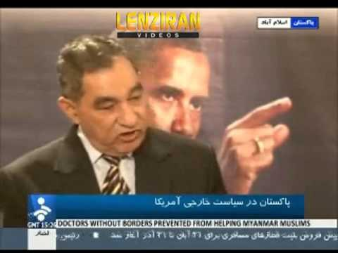 Pakistani political analysts comment  on United States policy live on Iranian television
