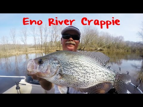Crappie Fishing North Carolina's Eno River