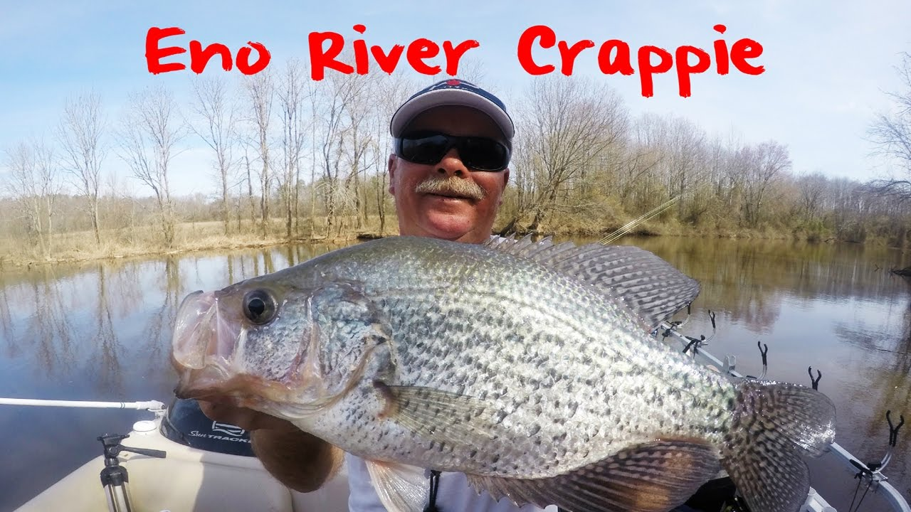 Crappie fishing north carolina 39 s eno river youtube for Clinton lake il fishing report