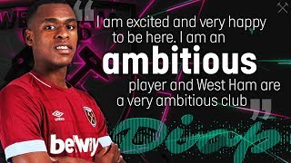 ISSA DIOP: WHY I CHOSE WEST HAM UNITED
