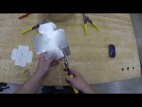 Sheet Metal Box- Cutting out the box
