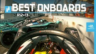 2019 New York City E-Prix | Best Onboards | ABB FIA Formula E Championship