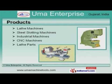 Lathe Machine By Uma Enterprise, Gujarat