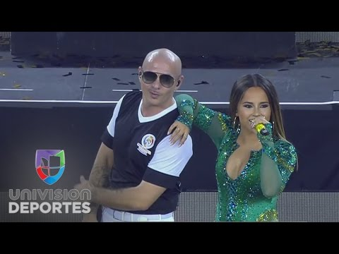Pitbull cierra con broche de oro la Copa América Centenario