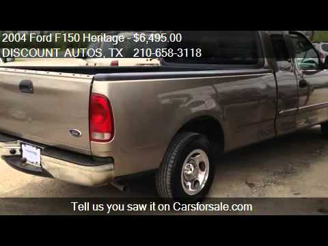 2004 Ford F150 Heritage >> 2004 Ford F150 Heritage Xlt Supercab 2wd For Sale In Cibolo