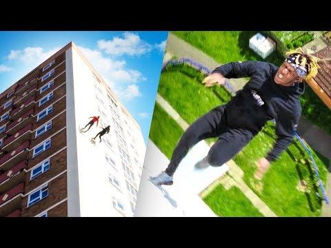 i-ran-up-a-building