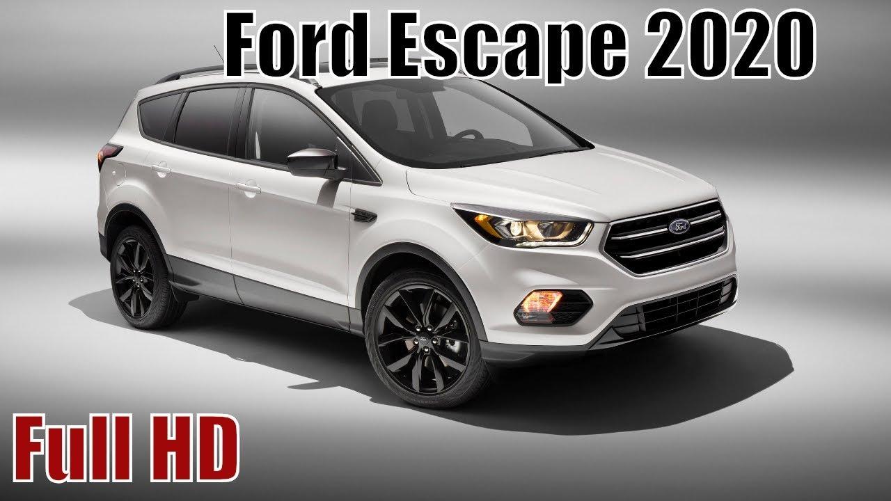 Ford Escape 2020 New Hybrid Review Interior Exterior