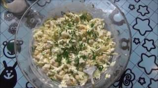 Крабовый салат с крабом.