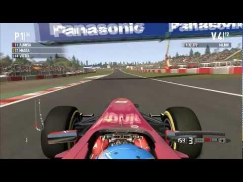 F1 2011 / Gameplay PC HD / Ferrari 150º ITALIA / GP Nurburgring / I5 2500k & GTS 450