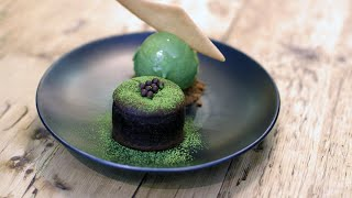 This Matcha Filled Chocolate Cake Is What Dessert Dreams Are Made Of