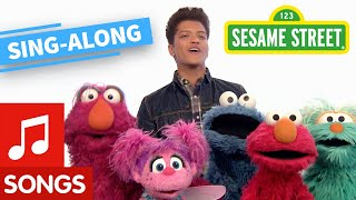 Sesame Street: Bruno Mars: Don't Give Up Lyric Video