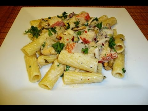 Creamy Seafood Pasta!