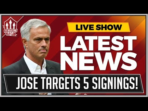 MOURINHO's Top 5 MANCHESTER UNITED Transfer Targets! MAN UTD News