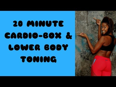 20 Minute Cardio Box & Lower Body Toning with Karla in Costa Rica
