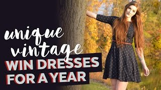 Unique Vintage | Win Dresses for a Year