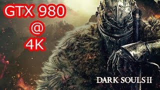 Dark Souls 2 Pc 4K GTX 980 FPS Performance Test