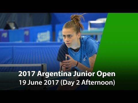 2017 ITTF Argentina Junior Open Day 2 (Afternoon)