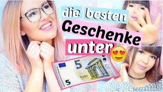 die besten GESCHENKE UNTER 5€ | ViktoriaSarina