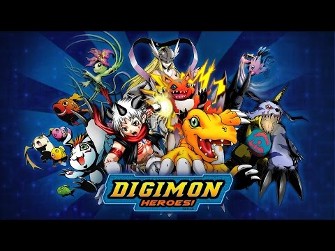DIGIMON HEROES - GAMEPLAY IOS/ANDROID