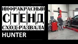 Инфракрасный стенд сход-развала Hunter DSP700 | Стенды развал-схождения(, 2015-06-19T10:48:34.000Z)