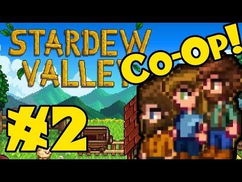 STARDEW VALLEY: Co-Op Multiplayer! - Episode 2