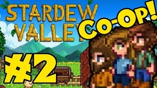 STARDEW VALLEY: Co-Op Multiplayer! - Episode 2