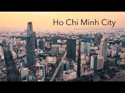 Ho Chi Minh City, Vietnam in 4K | GH4 | DJI Mavic Pro