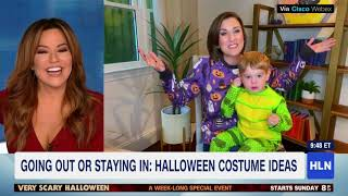 Halloween Costume Trends with Lynn Smith on HLN Morning Express
