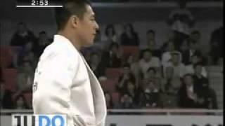 JUDO 2009 All Japan: Yasuyuki Muneta 棟田 康幸 (JPN) - Takamasa Anai 穴井 隆将 (JPN)