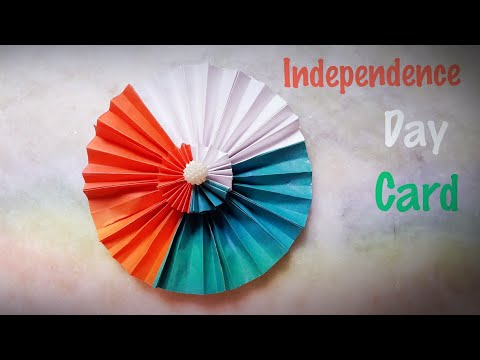 Independence day card ideas|independence day card making ideas|handmade card for independence day.