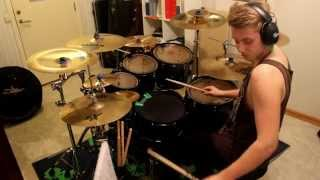 thy art is murder doomed from birth drum cover