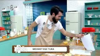 Ver Fırına - Teknik Etaptaki Güllü Cafe Latte Pasta Yapımı (27.11.2014)