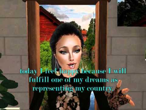 Miss Sims Globe Nicaragua 2012- Videogenic.