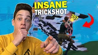 Pretending to be a DEFAULT SKIN and hitting a TRICKSHOT! (i can't believe i hit this)