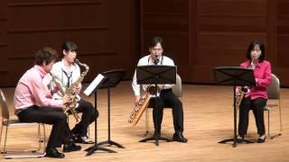 サクソフォンコンサート2010 香川県アルファあなぶきホール.