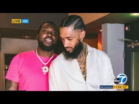 WATCH LIVE: NIPSEY HUSSLE MEMORIAL SERVICE at Staples Center