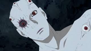 Наруто,Сакура,Сарада и Саске против Шина Учихи. Полный бой.в HD