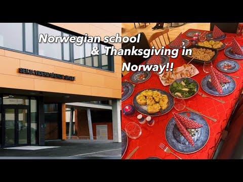 Norwegian school & Thanksgiving in Norway!!