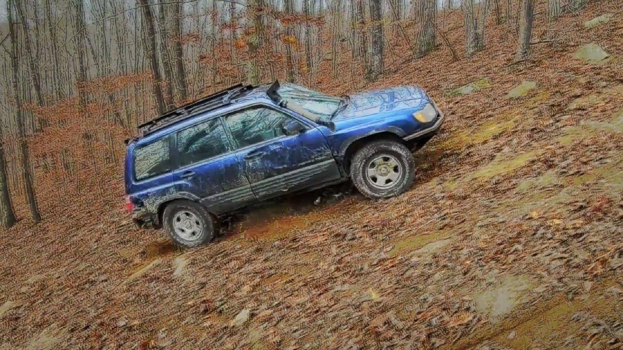 Subaru Forester Off Road >> Brutal Mountain Climb Subaru Forester Off Road At East Lynn