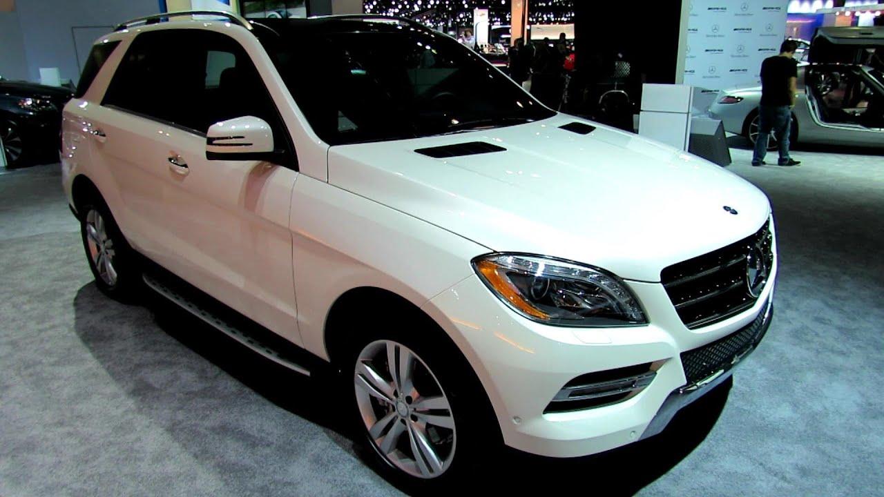 2013 mercedes benz ml350 exterior and interior walkaround 2012 los angeles auto show