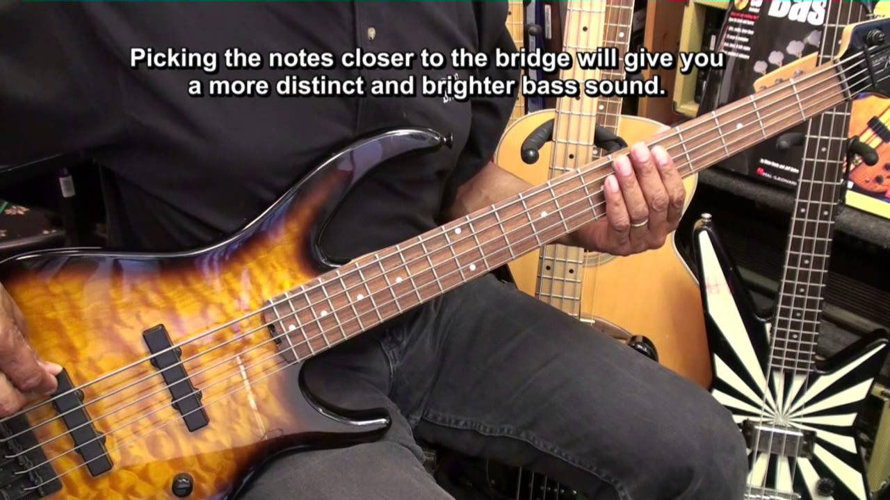 getting started on the 5 string electric bass guitar lesson 1 ericblackmonmusichd first youtube. Black Bedroom Furniture Sets. Home Design Ideas