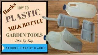Plastic Bottle Hacks that saves your money( Free Gardening tools)