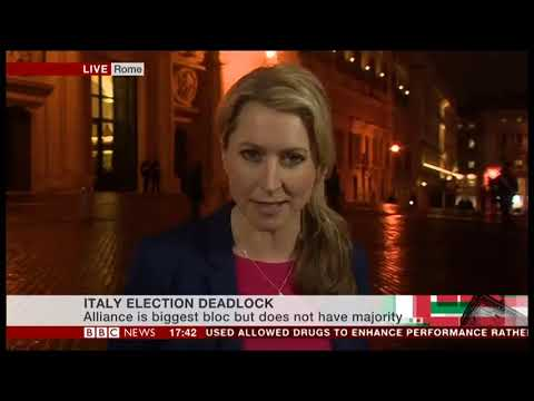 Karin Giannone with Italian election 2018 live coverage from Rome