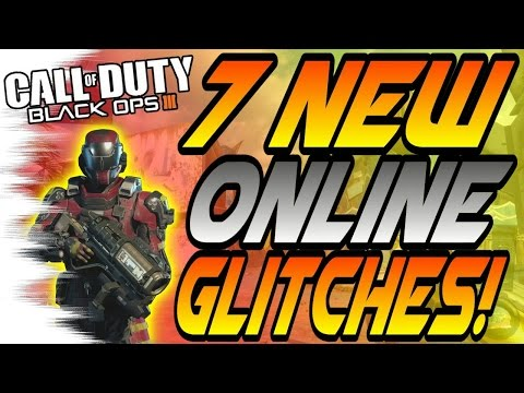 (2/1/16) 7 NEW BO3 Multiplayer Glitches! - Freerun Glitch, High Ledges (BO3 Online Glitch)