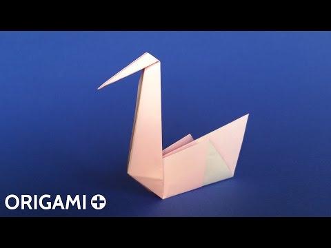 Origami Swan (Traditional model) - Cygne, Cisne, Cigno