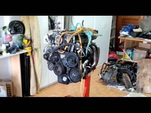 (How to) Put your engine on the engine stand
