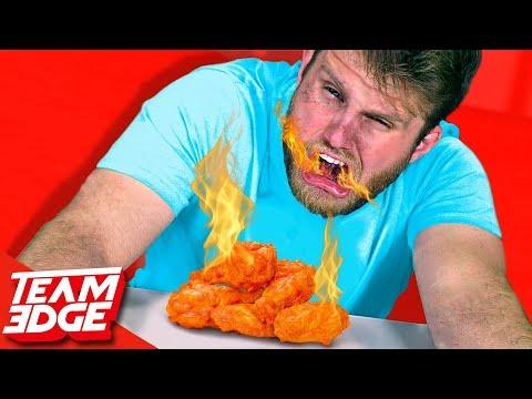 These HOT Wings Will BOIL Your Insides!!