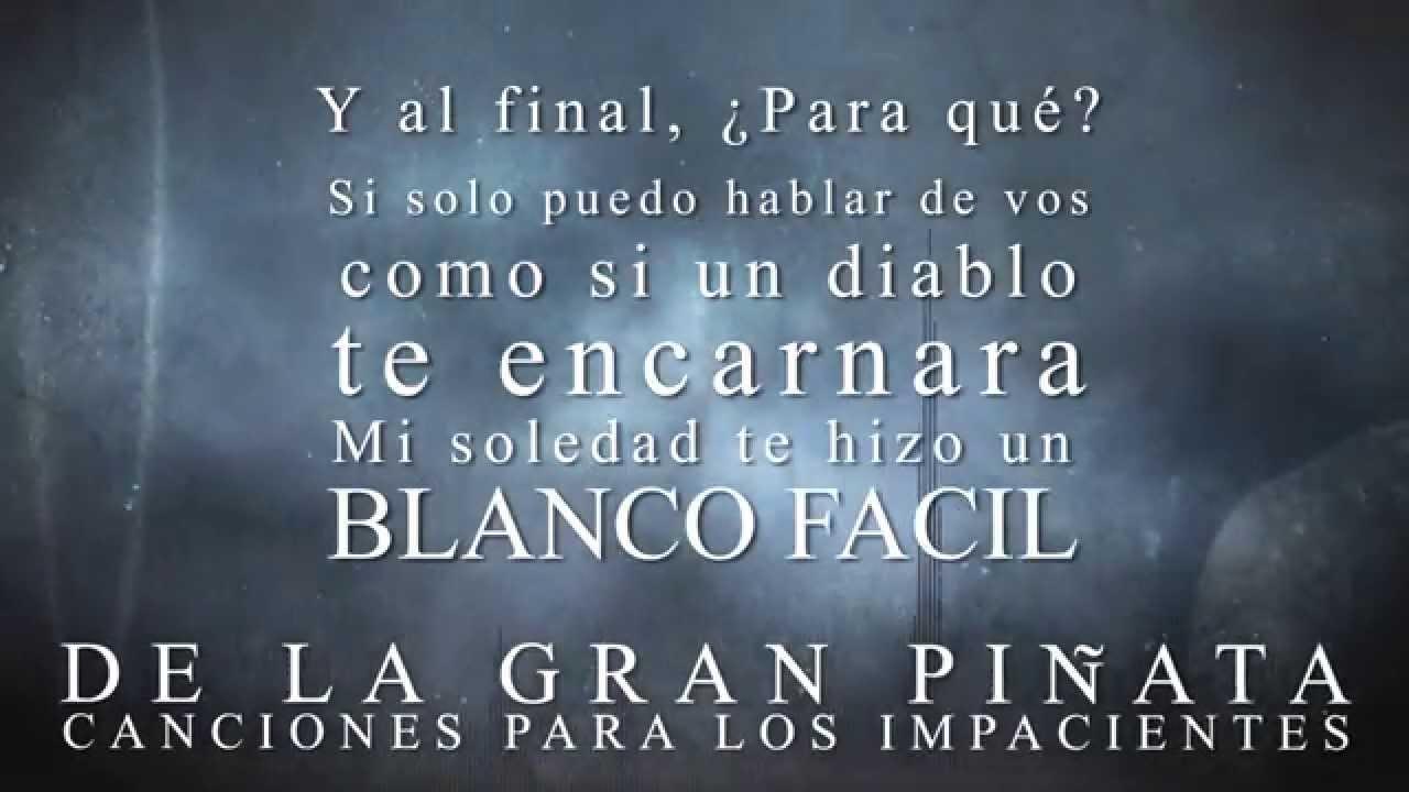 Blanco Fácil Canciones Para Los Impacientes De La Gran Piñata
