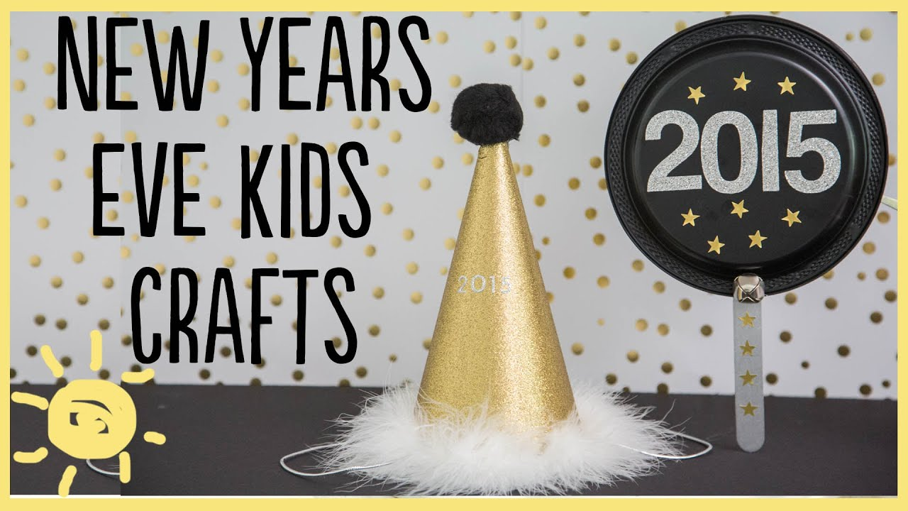 New Year Craft Ideas For Kids Part - 42: DIY | New Years Kid Crafts - YouTube