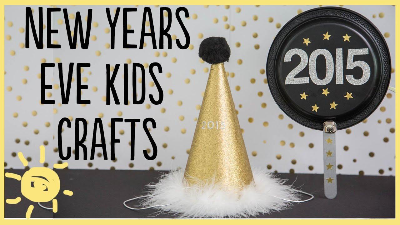DIY New Years Kid Crafts YouTube